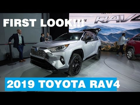 First Look! 2019 Toyota RAV4 Debuts At New York Auto Show