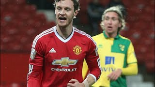 Will Keane scores 5 goals for Manchester United U21 vs Norwich U21 8/2/2016