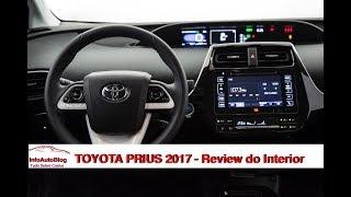 TOYOTA PRIUS 2017 Parte 2 - Review do Interior