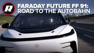 Faraday Future FF 91 prepares to race down the German Autobahn thumbnail