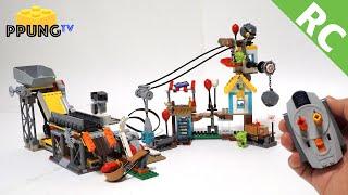 LEGO Angry Birds 75824 RC motorized Pig City Teardown by 뿡대디