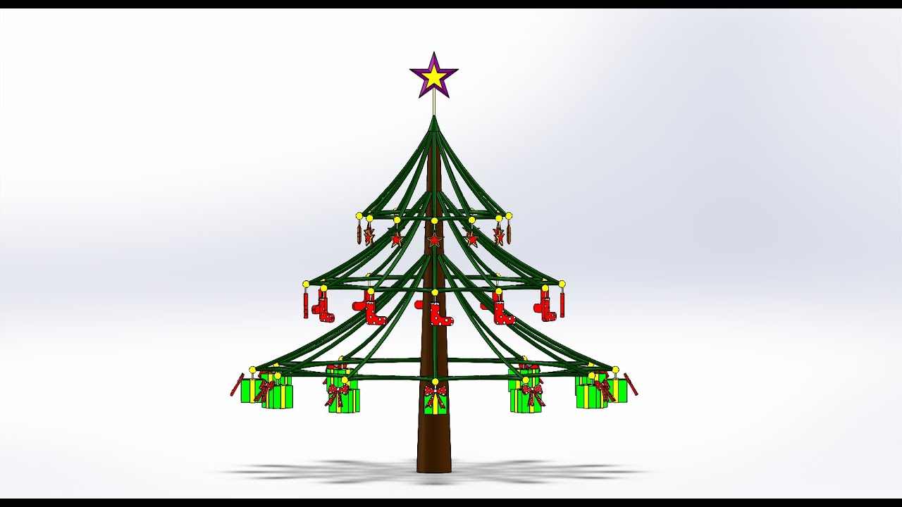 Solidworks: Christmas Tree