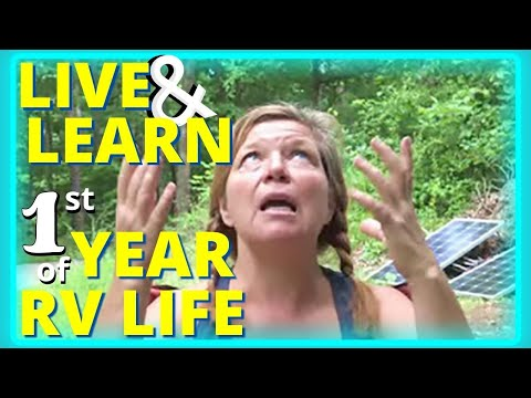 One Year of RV Living: Advice and Fun Facts