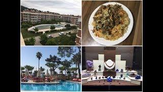 VLOG: Турция, Отель Otium life в Göynük, Начало работы, Узбекский плов