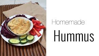 Selbstgemachter Hummus || mein Basisrezept