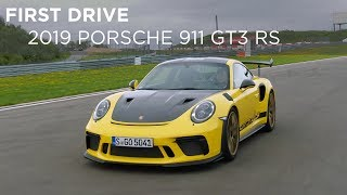 First Drive | 2019 Porsche 911 GT3 RS | Driving ca