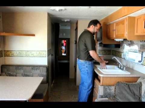 travel trailer v front honeywell fan center wiring diagram 2008 four winds 29qgs lite quad bunk - youtube