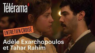 """Adèle Exarchopoulos et Tahar Rahim, dans """"Les Anarchistes"""" - Cannes 2015"""