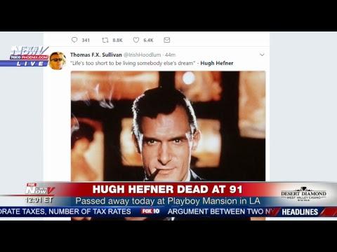 BREAKING: Hugh Hefner DEAD - Playboy Founder Dies at Age 91 (FNN)