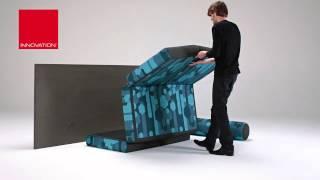 видео Угловой диван Дания - мебельная фабрика StArt furniture