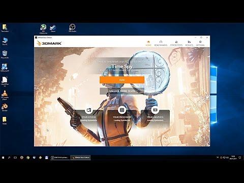 Nvidia Geforce Gtx 1060 3dmark Time Spy Benchmark Non Oc