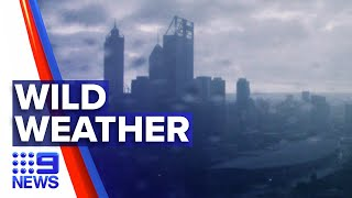 Major Storm Front Smashes Perth