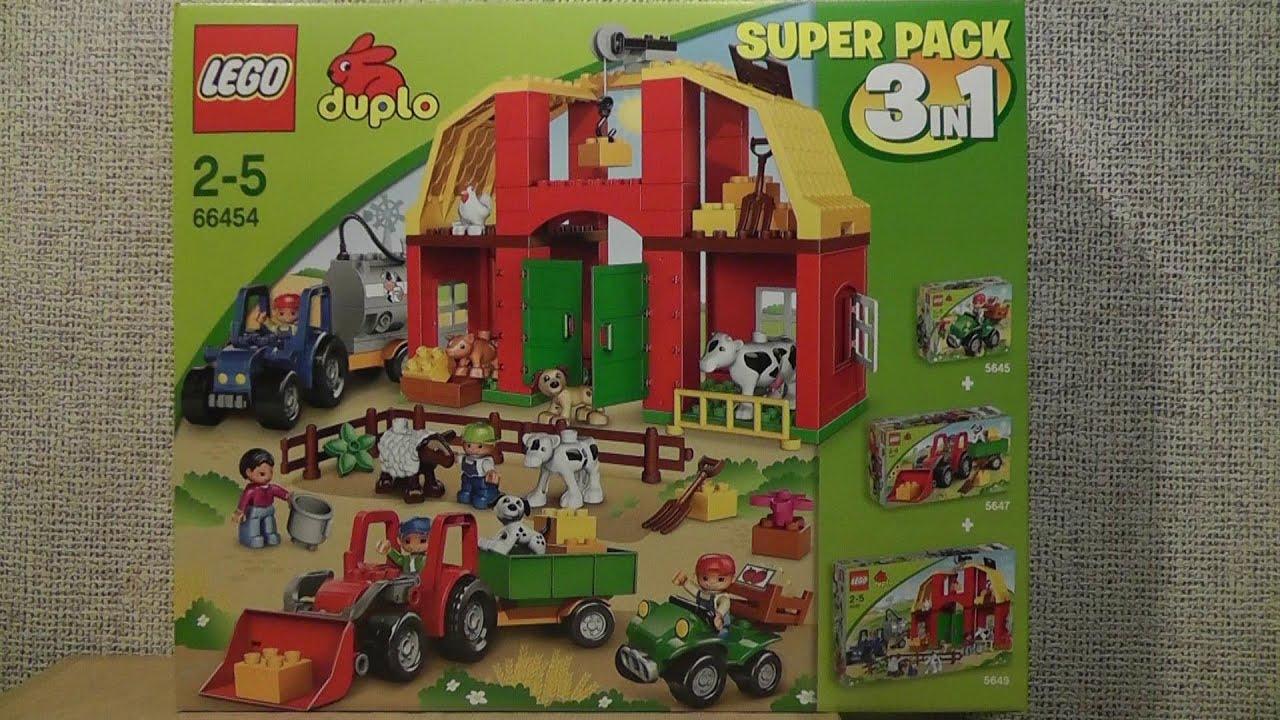 Lego Duplo 66454 Super Pack 3w1 Youtube