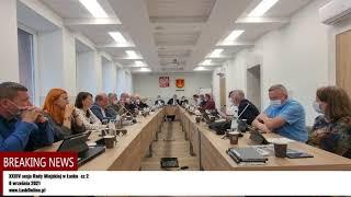 XXXIV sesja Rady Miejskiej w Łasku cz. 2