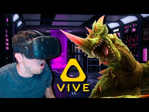Matando MONSTRUOS en REALIDAD virtual!! Eclipse  (HTC VIVE VR)