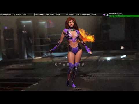 Injustice 2 - REO (Grodd) VS Jupiter (Starfire) Online Matches