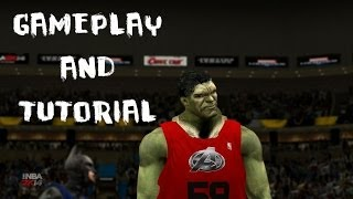 NBA 2K14: Justice League vs. The Avengers Gameplay and Installation Tutorial