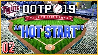 Out of the Park Baseball 19 - CONTINUING OUR STRONG START! | Ep.2