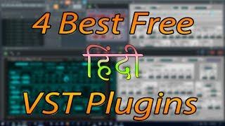 4 Best Free Vst Plugins For Fl studio | Hindi