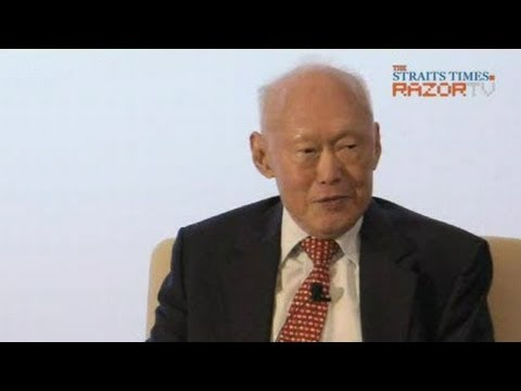 MM Lee dialogue on China & S'pore relations (Pt 1)