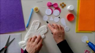 Eldiven Kukla Yapımı | Oyuncak | Kukla | Eğitici Oyuncak