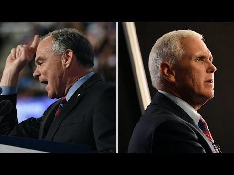 Watch the 2016 Vice Presidential Debate (Full Debate - 10/04