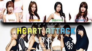 [IND] [HOW WOULD] AOA 에이오에이 (OT4) - Heart Attack | Color Cod…