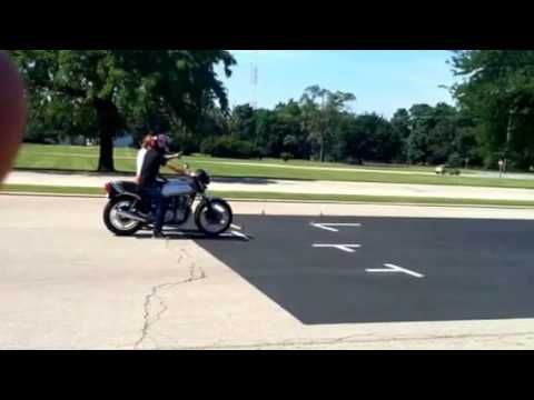 FULL M Class Illinois motorcycle test! How to pass