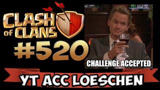 CHALLENGE: 2 STAR ODER YT ACCOUNT LÖSCHEN! ★ CLASH OF CLANS #520 ★ Let's Play COC ★