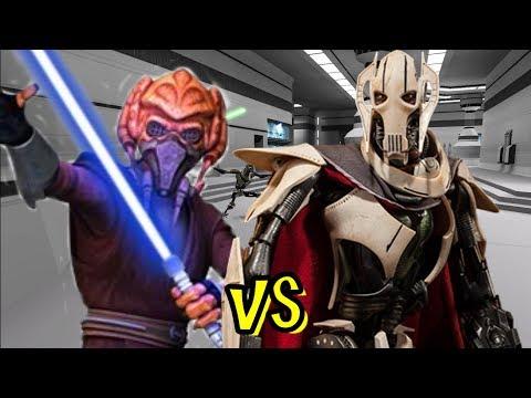Plo Koon Vs General Grievous - Jedi Academy Ai Battle