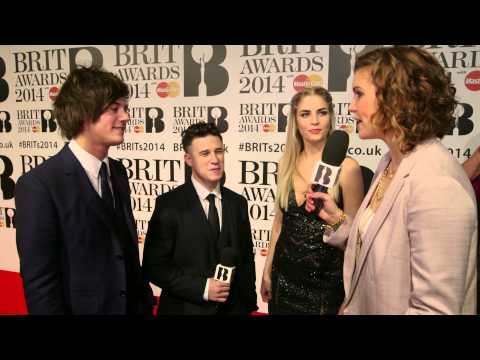 London Grammar | BRITs Red Carpet 2014