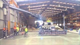 Telebelt Mobile Conveyors-Steel fibre concrete