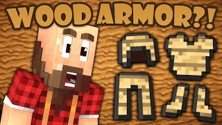 Why Wood Armor Doesn't Exist - Minecraft thumbnail