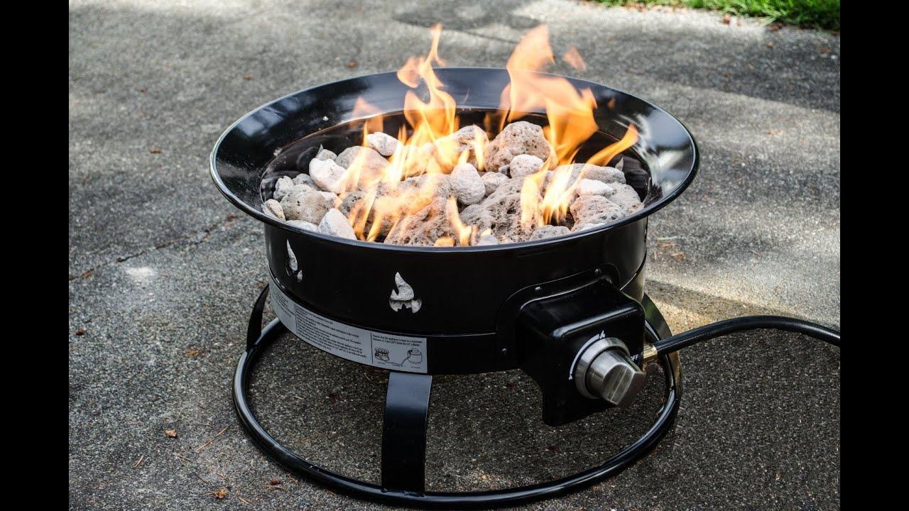 Merveilleux Review: Heininger 5995 58,000 BTU Portable Propane Outdoor Fire Pit    YouTube