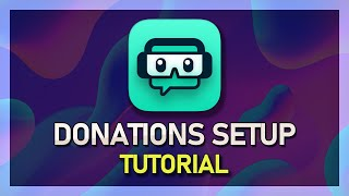 StreamLabs OBS  How to Setup Donations