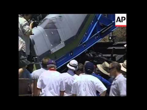 Latest experimental results into possible cause of Columbia shuttle crash