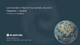 Commander of March Tournament Round 5: Quitch vs tessaract