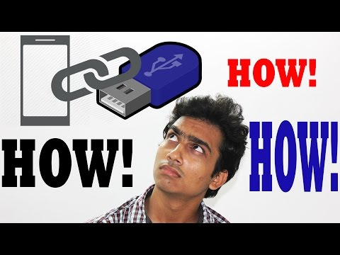 How To Connect Pen-drive With Smartphone