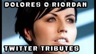 Dolores O'Riordan Twitter Tributes