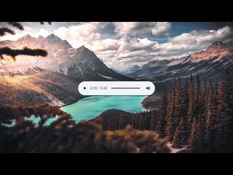 Audio Tag Work With Only Html And CSS Web Designing