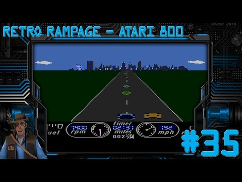 Retro Rampage - Season 1 Folge #35 - Atari 800 - The Great American Cross-Country Road Race