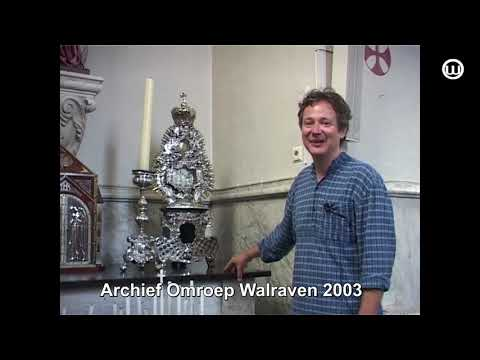 210108 Gevonden op onze Zolder Restauratie reliekschrijn St Luciakerk 2003