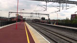 Trains Passing Rugby Station