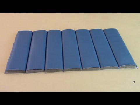 Tuck & Roll Pleats/Channels - Upholstery Basics