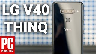 LG V40 ThinQ Hands On