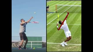 More Serve Power \u0026 Spin With This Quick Fix - Tennis Video Analysis