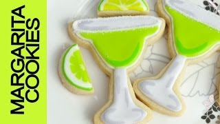 Margarita Cookies Tutorial, Decorating With Royal Icing