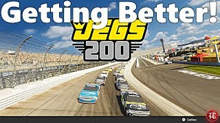 NASCAR Heat 3: Dirt Track Win and Getting Better in Truck Racing!!