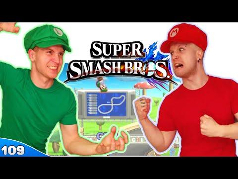 Bros Play Super Smash Bros 4 ✪ MARIO KART 9!! ● Multiplayer #109 - 동영상