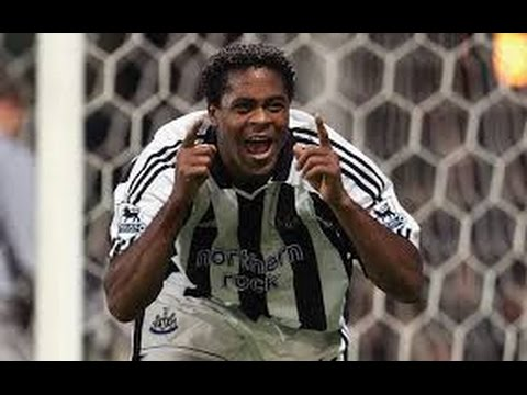 Patrick Kluivert - Newcastle United - Skills and Goals